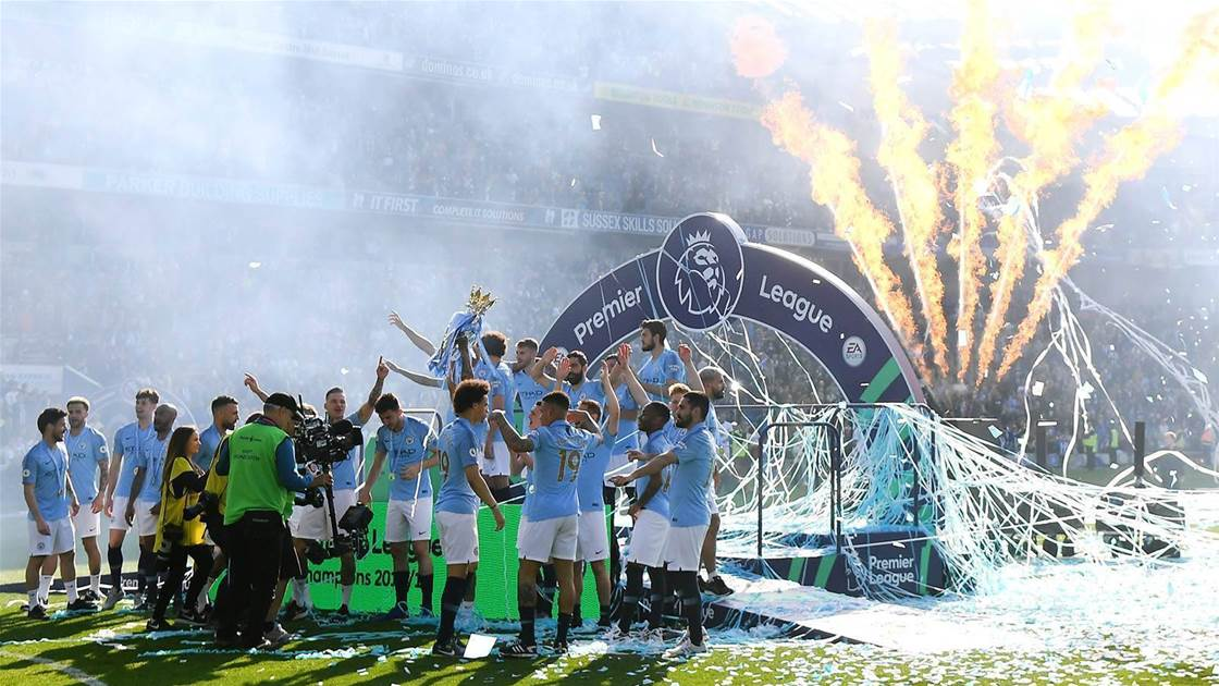Ruthless Man City pip Liverpool to title