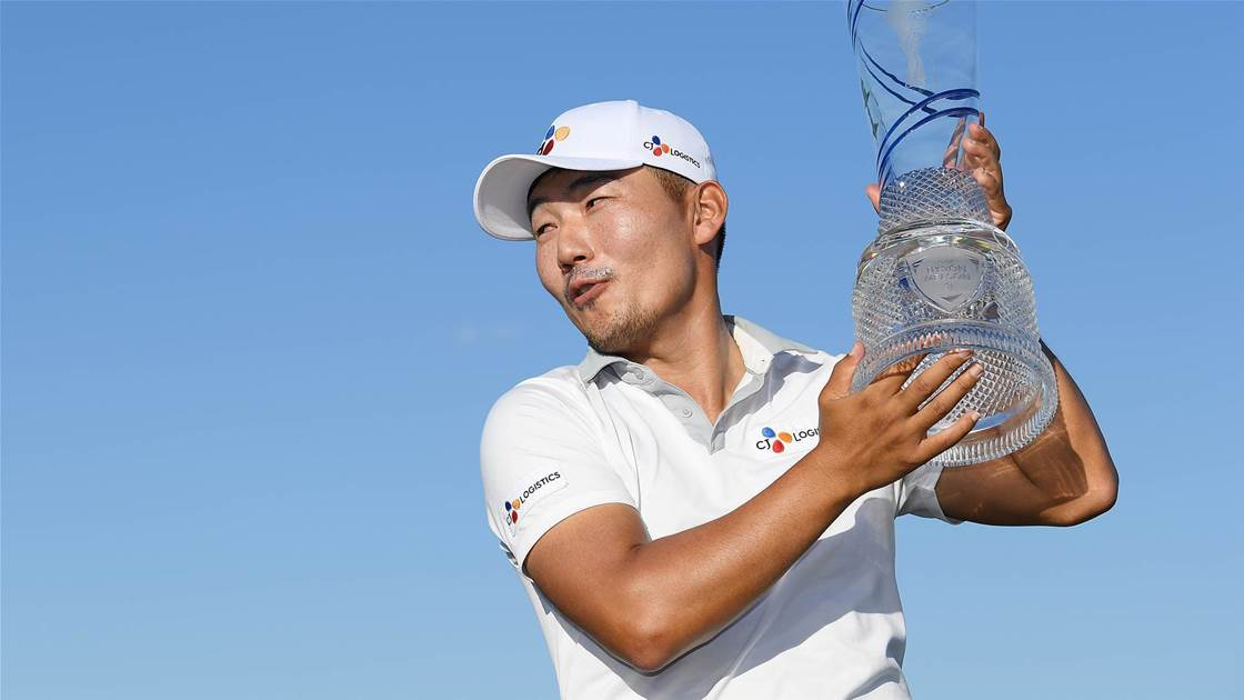 Kang grabs first PGA Tour win at 159th attempt