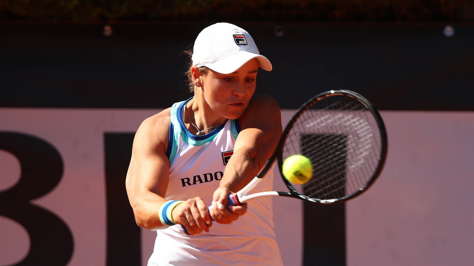 Barty and Azarenka through to Rome final