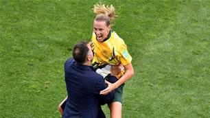 Savvy Milicic savours Matildas' victory