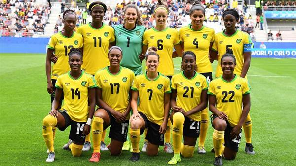 Matildas train eyes on Reggae Girlz