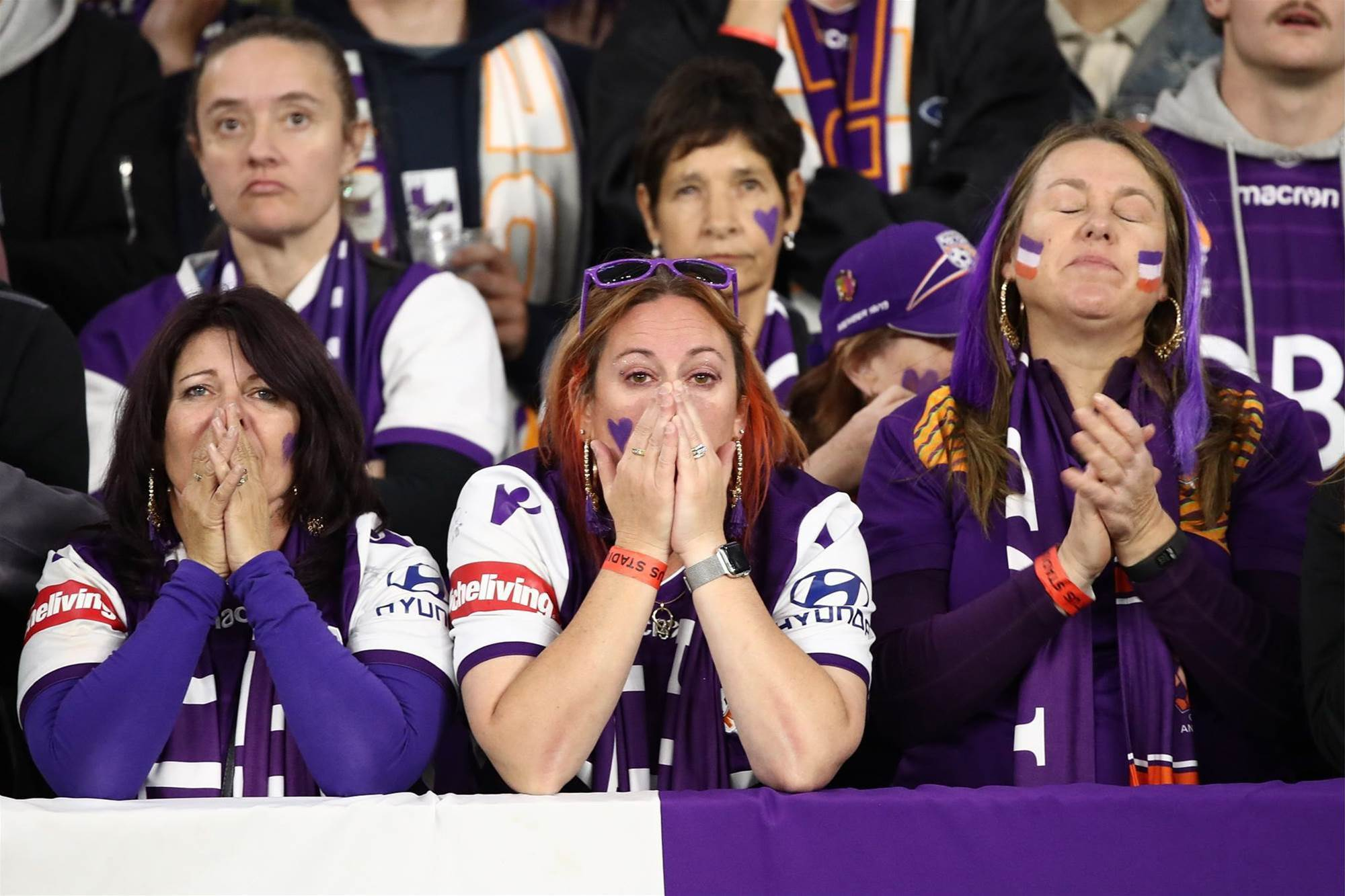 Glory fans left heartbroken again