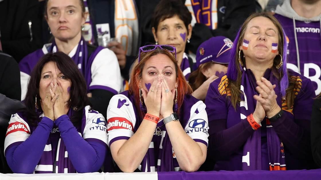 Glory fans left heartbroken again