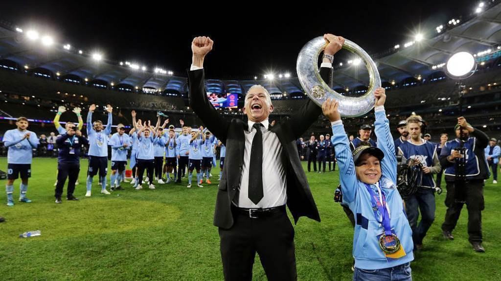 A-League champions honour roll