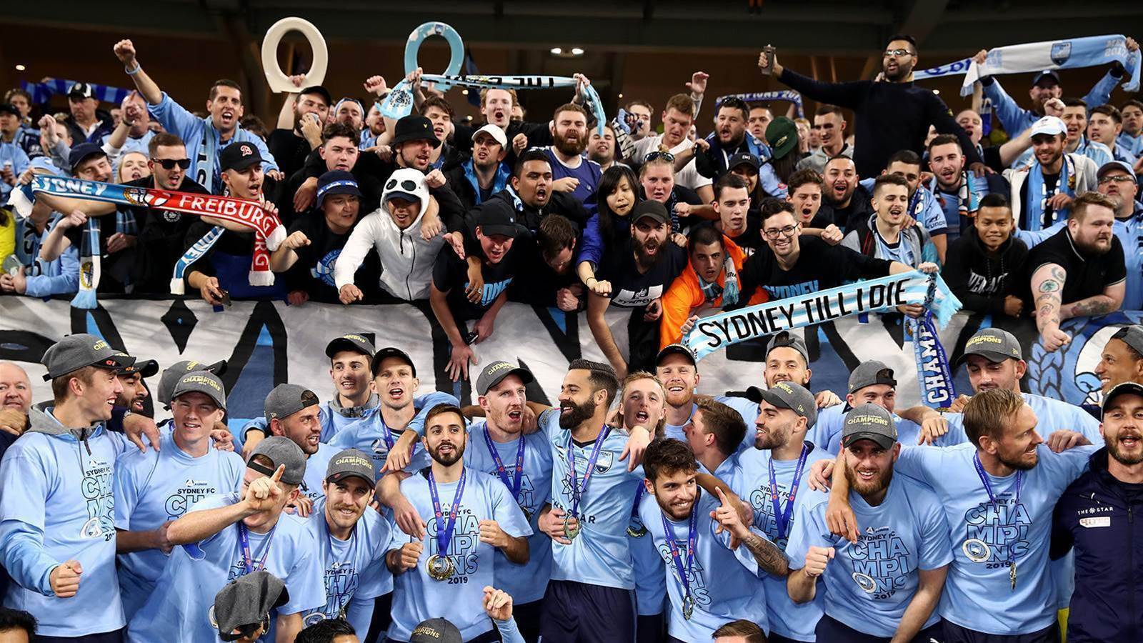 Sydney head home as A-League Champions