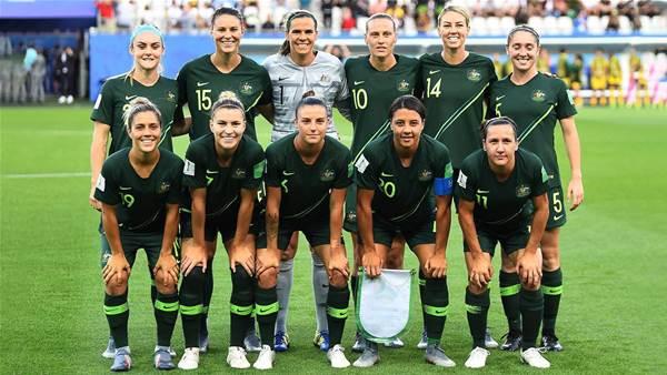 Matildas player report card