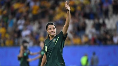 The world hails Sam Kerr's four-goal haul