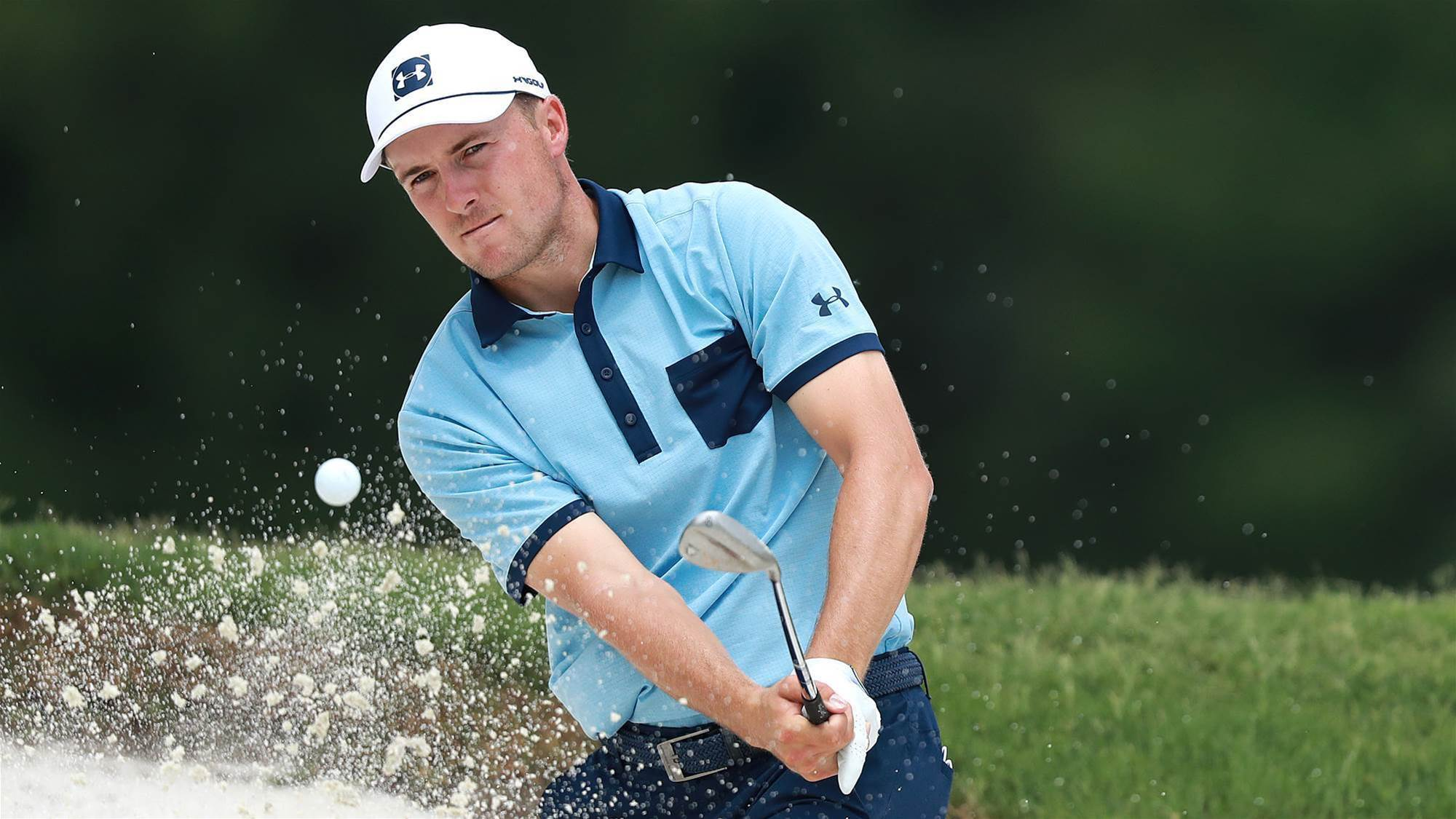Local favourite Spieth fires in Texas