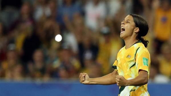 Our favourite Matildas moments: Sam Kerr
