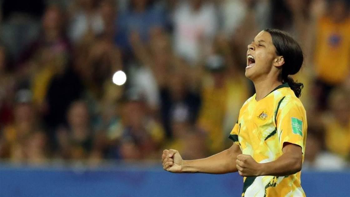 Our favourite Matildas moments: Sam Kerr
