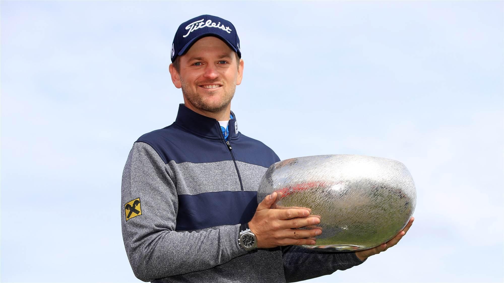 Wiesberger wins Made in Denmark