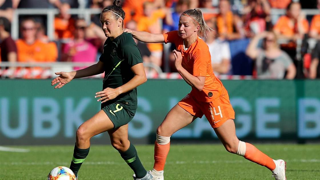 Ruthless Dutch hand Matildas loss