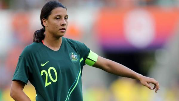 Sam Kerr laments Matildas wake-up call