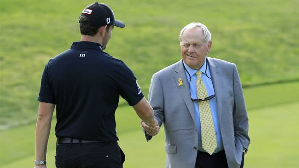 Nicklaus says handshake tradition to stay