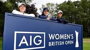 Women's British Open prize money up 40 percent