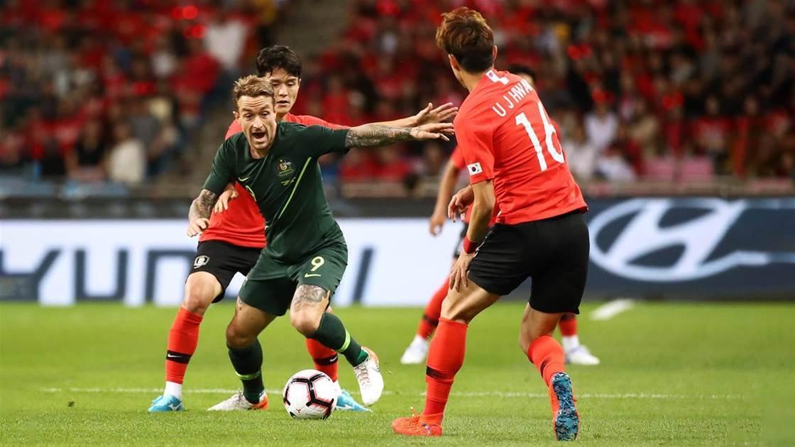 Socceroo Taggart relishing Arnie's lessons