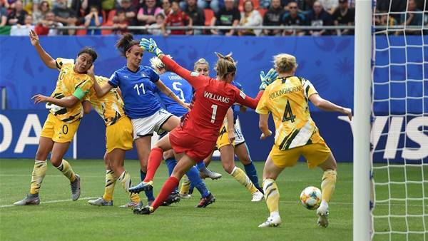Double boost as Matildas vow to tighten up and turn the tide