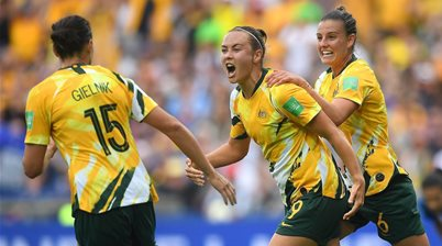 Matildas relish a France clash