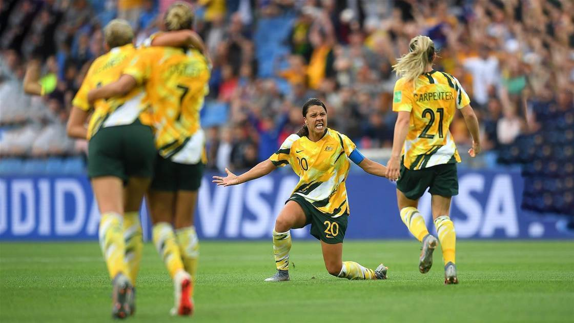 Matildas conjure miracle in Montpellier