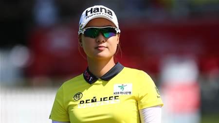 LPGA: Lee & Choi in running at team event