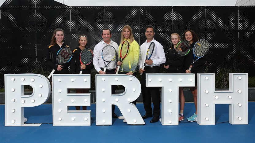 Perth to host historic Fed Cup final