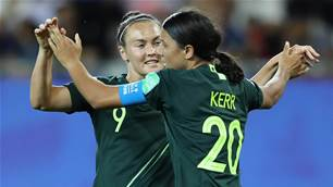 Sam Kerr's verdict on her Kerr-azy World Cup goalfest