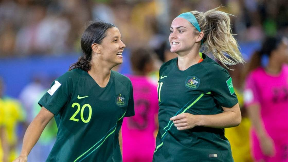 Matildas stars face off for PFA awards