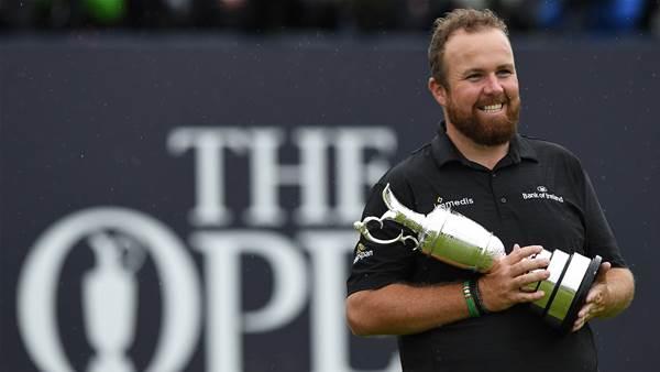 "The Open: Lowry returns ""straightened"" Claret Jug"