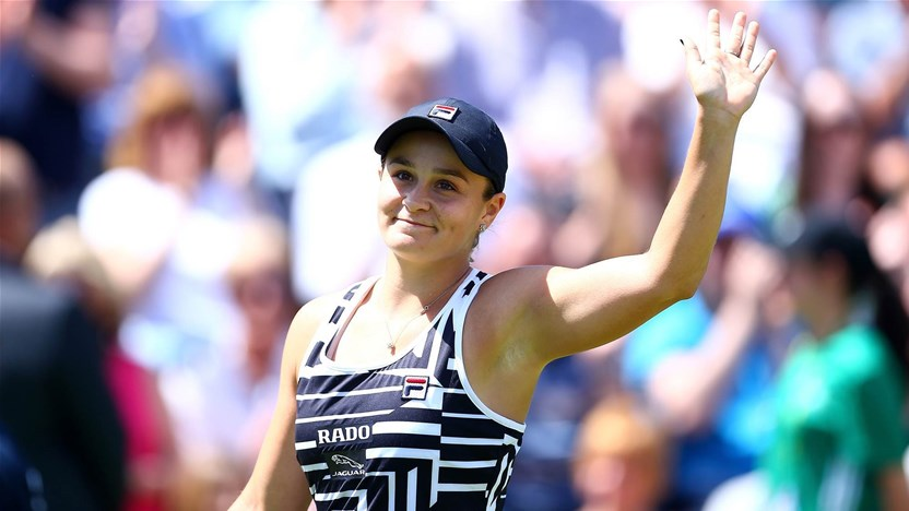Barty reaches new heights