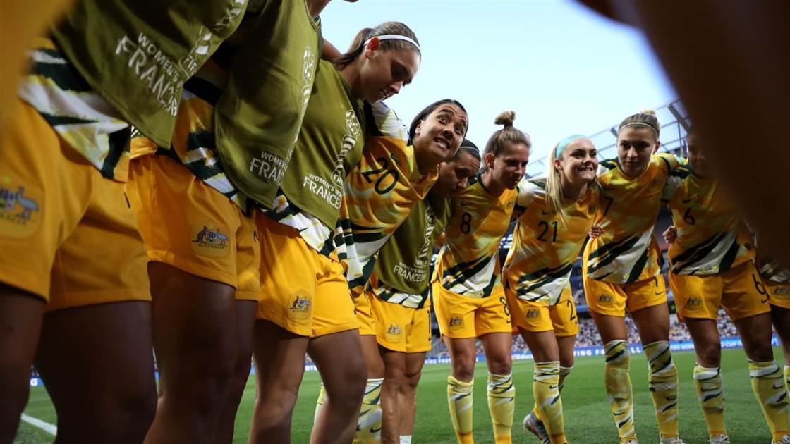 Matildas name 'brave' Tokyo Olympics squad: 'We're fast, we're strong, we're fit'