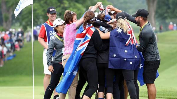 Exciting era for Aussie women's golf: Webb