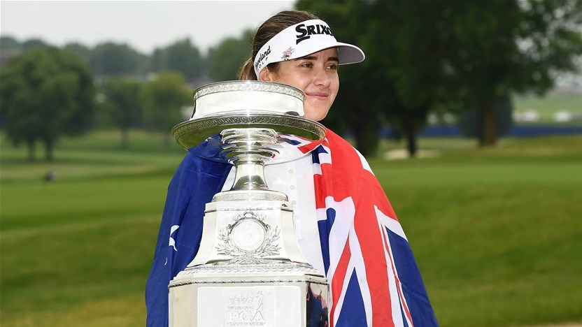 Hannah Green wins the Women's PGA
