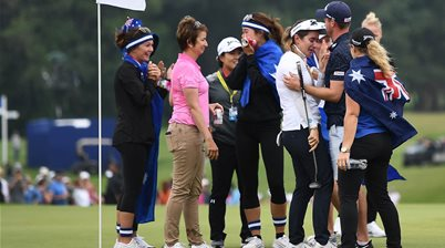 Green 'made to win majors': Karrie Webb