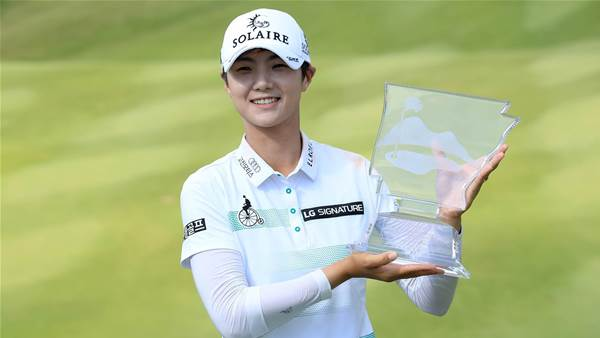 Sung Hyun Park wins at Pinnacle to go No.1