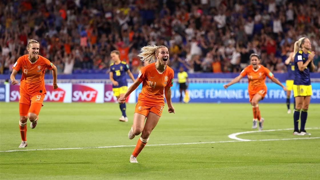 Netherlands don't mind underdog tag