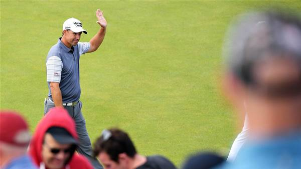 Local Harrington seizes lead at Irish Open