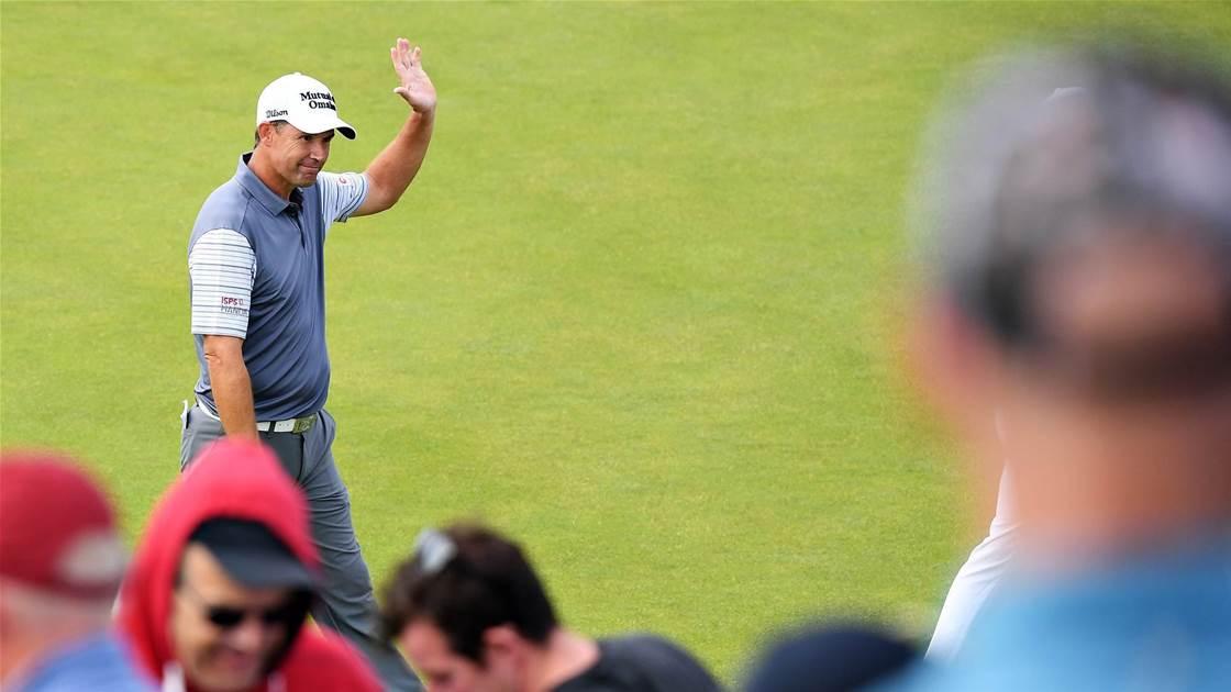 Local Harrington seizes lead at Irish Open