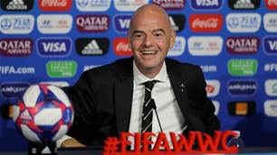 Infantino wants to expand Women's World Cup