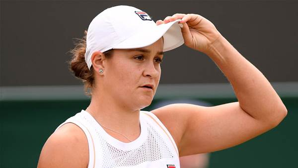 Riske ousts Barty at Wimbledon