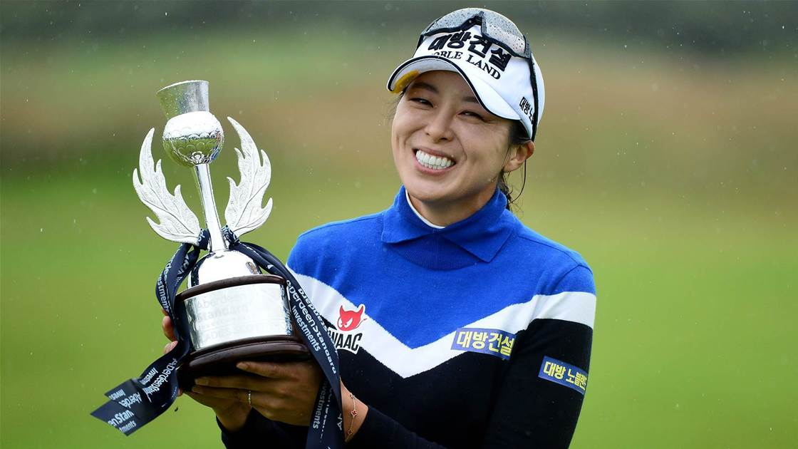 Hur sizzles to wrap up Scottish Open title