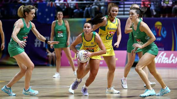 Diamonds blitz Northern Ireland in opener