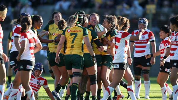 Debutants shine in Wallaroos victory