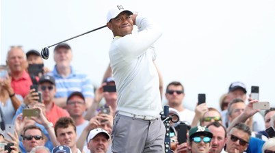 Tiger Woods' approach to Portrush puzzles