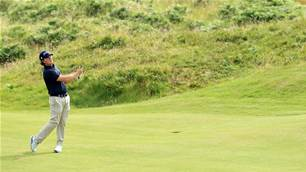 Aussie rookie living it up at The Open