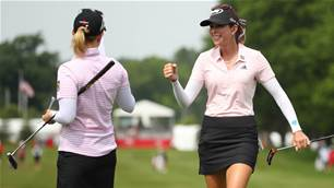 LPGA: Pressel & Creamer leading team event
