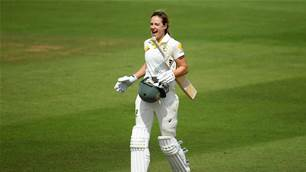 Another Test century for Ellyse Perry