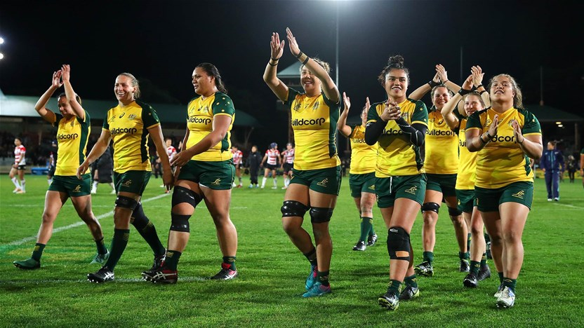 Wallaroos changes for Kiwi Test