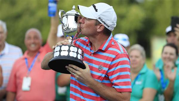 PGA Tour: Herman's win inspired by Trump's tip