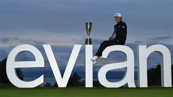 South Korean Ko wins Evian Championship