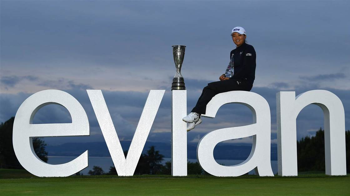South Korean Ko wins Evian Championship